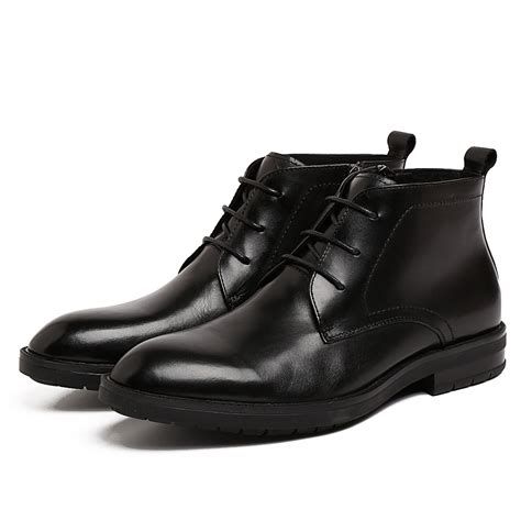 buy wholesale mens black dress boots from china