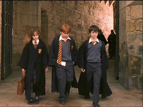 hermione granger in the 1st movoe i loved the costumes in the first movie hermione