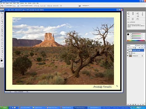 aggiungere cornice photoshop cornici in photoshop