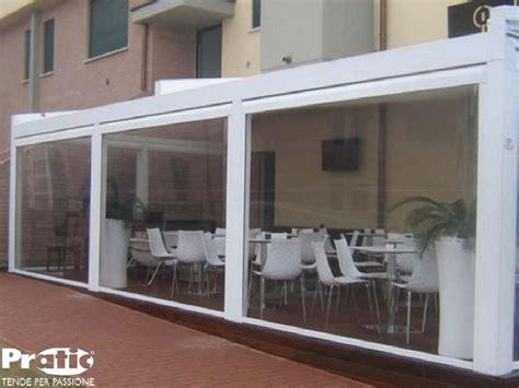 tende per bar chiusure per esterni per verande terrazzi balconi