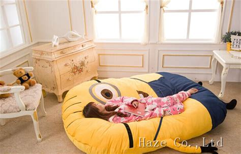 huge bed despicable me minions huge comfortable cartoon bed