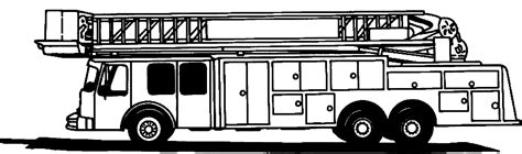 ladder truck coloring page free ladder truck coloring pages