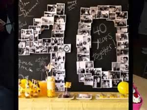 40th birthday decoration ideas 40th birthday ideas supplies themes decorations