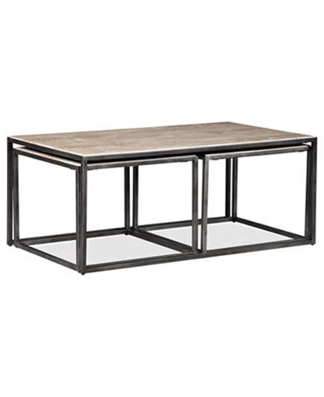 Monterey Coffee Table Monterey Coffee Table Rectangular Nesting Furniture Macy S