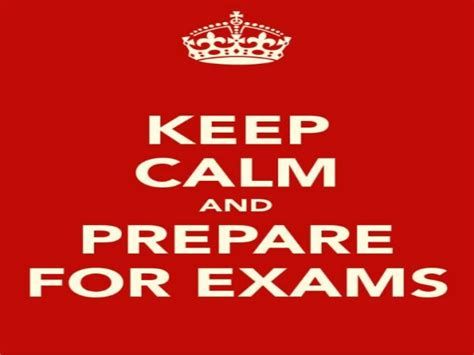 How To Prepare For An How To Prepare For Board Exams