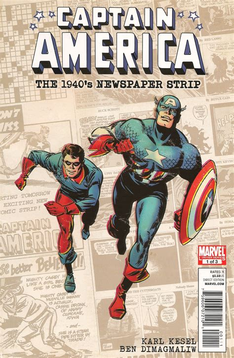 america vol 1 the and times of america chavez captain america the 1940 s newspaper vol 1 1