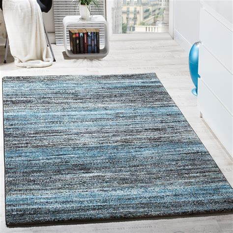 teppich blau carpet modern living room with special mottled in
