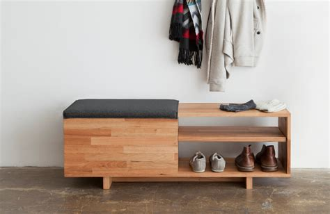 entryway bench modern laxseries storage bench modern entry los angeles