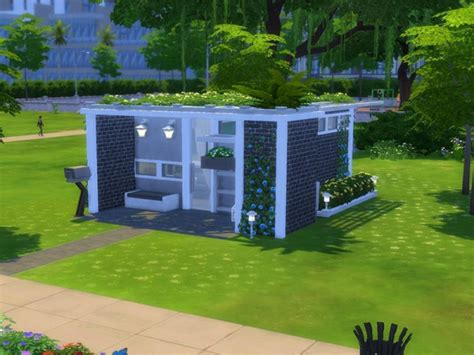 Cheap Livingroom Set the sims resource small modern house 5x5 chellenge lot