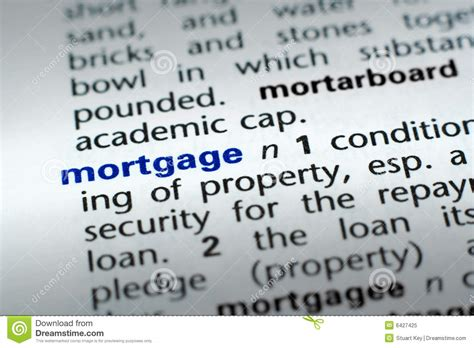 stock images definition definition of mortgage stock image image of credit