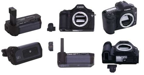 Papercraft Canon - size canon eos 5d with bg e4 battery grip free paper