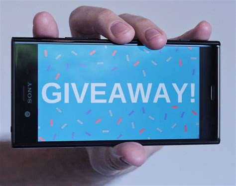 Mobile Home Giveaway On Facebook - sony canada giveaway win the flagship xperia xz1 smartphone