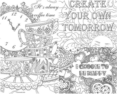 Pens 233 E Positive 224 Colorier Pour Adulte Artherapie Ca Free Downloadable Coloring Pages L
