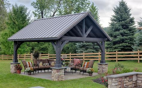 Spice up your backyard with a Pavilion, Pergola, or Gazebo
