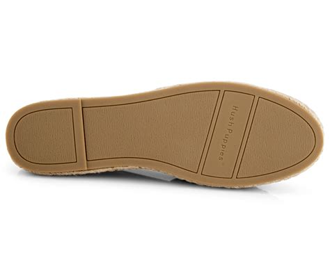 hush puppies s hosier leather flat gold ebay
