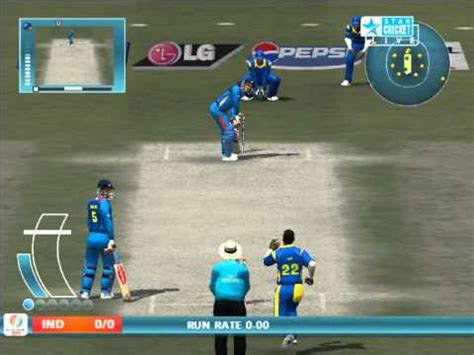 ea cricket 2007 icc cwc 2011 patch youtube