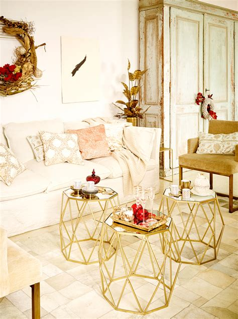 home design gold ideas white gold christmas zara home portugal