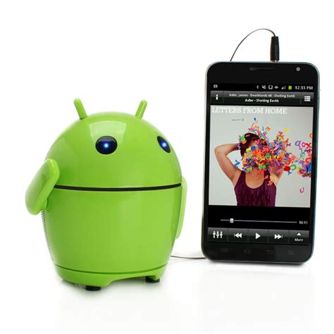android speaker pal bot the rechargeable portable android speaker system for smartphones ebay