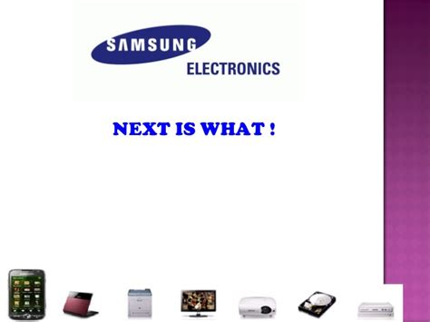 Samsung Ppt Samsung Powerpoint Template