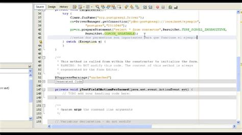 tutorial java postgresql recorrer registros de un resultset en java postgresql