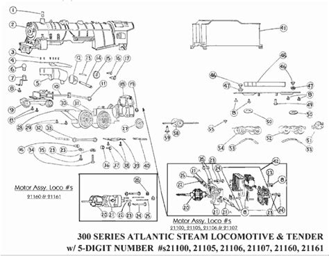 lionel parts list and exploded diagrams image gallery lionel parts diagram