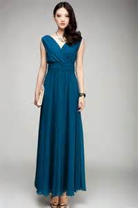 plus size colored sd86 new silk chiffon maxi dress teal color