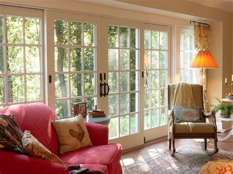 Andersen Patio French Doors With Built In Blinds