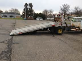 rollback tow truck flatbed new engine towtruck jerrdan