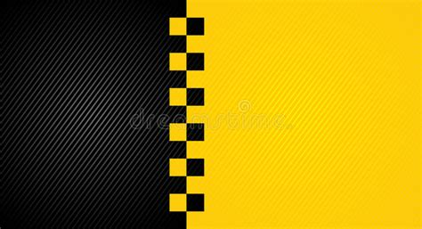 racing orange background taxi cab cover template stock