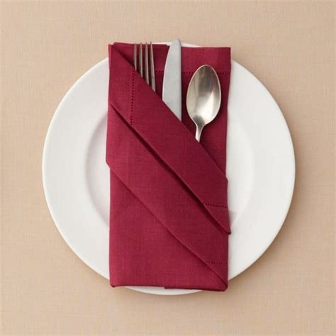 Ways To Fold Paper - 7 ways to fold a napkin for your big day and every day