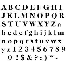 cool letter stencils stencil font alphabet diy ideas
