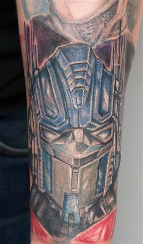optimus prime tattoo optimus prime by graynd on deviantart