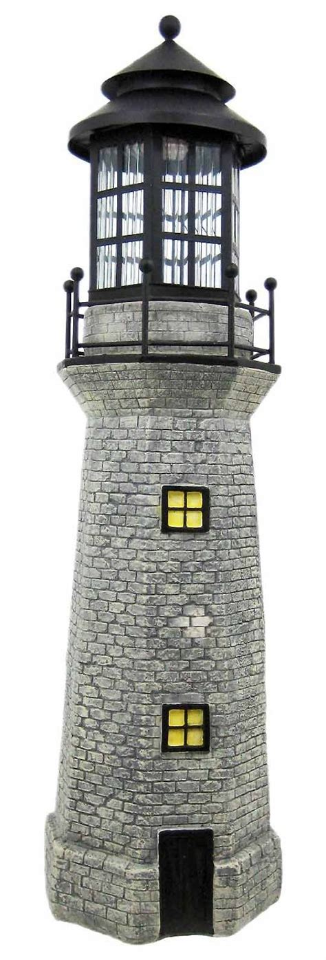 Solar Lighthouses Will Add Character To Any Garden Light House Solar