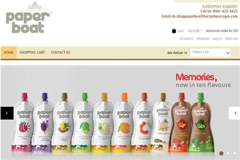 paper boat drinks company name paper boat maker hector beverages opens second plant in