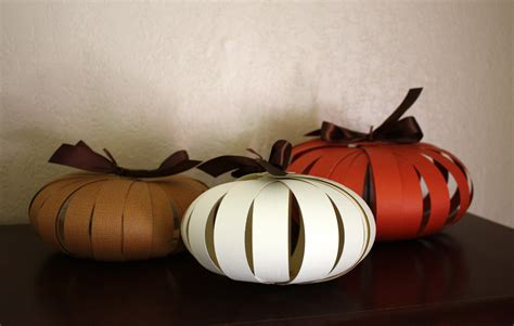 Paper Pumpkin Crafts For - paper pumpkin tutorial