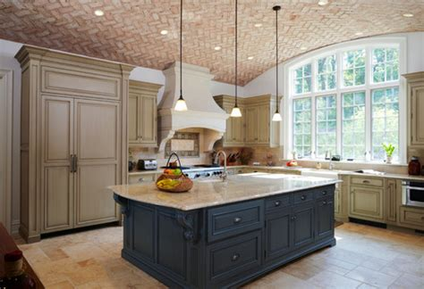 Yellow Painted Kitchens - unexpected pop of color kitchen cabinets how to nest for less