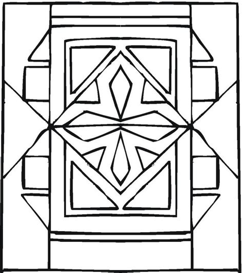 printable geometric mask template printable geometric design coloring pages coloring home