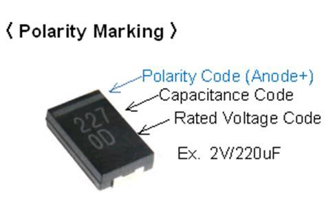 electrolytic capacitor polarity marking pcb polymer capacitors faq murata manufacturing co ltd