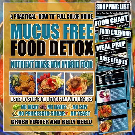 The Detox Foods Free Ebook by Mucus Free Food Detox Ebook A Healthy Crush Digital