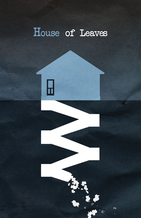 house of leaves buy house of leaves minimalist poster by ohitsjustin on deviantart
