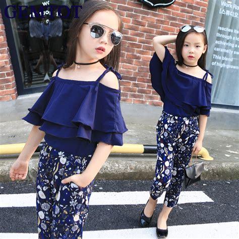 Batiqa Set 11 By N D Fashion gemtot set clothes fashion top pant two children summer suit boutique