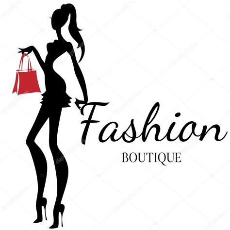 Emblem Logo Tas Dompet Topi Model Mahkota 1 logo de boutique de moda con vector de silueta de mujer