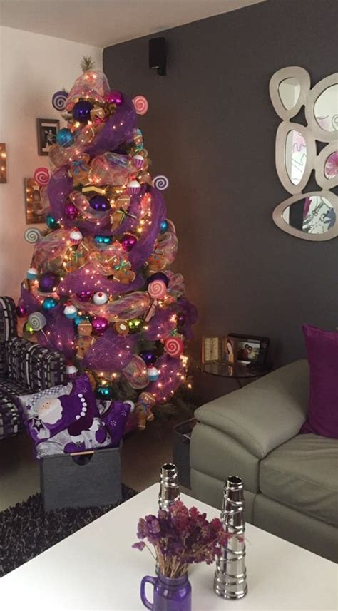 arbol navidad morado colorful tree arbol de navidad para ni 241 os morado