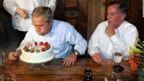 george w bush birthday tbt george w bush loves birthdays more than anyone cnnpolitics com