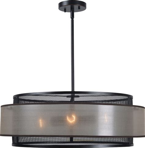 Drum Ceiling Light Kenroy Home 93329orb Alessandra Modern Drum Ceiling Pendant Light Ken 93329orb