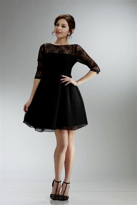 Sleeve Dress black dress with sleeves naf dresses