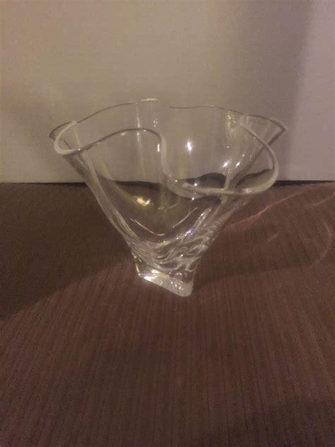steuben small handkerchief vase collectors weekly