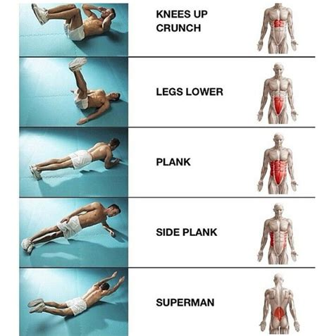 great ab workouts they target different muscles and it s important to target each them