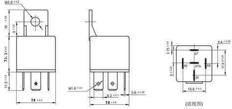 8 blade dpdt relay wiring diagram electrical relay diagram