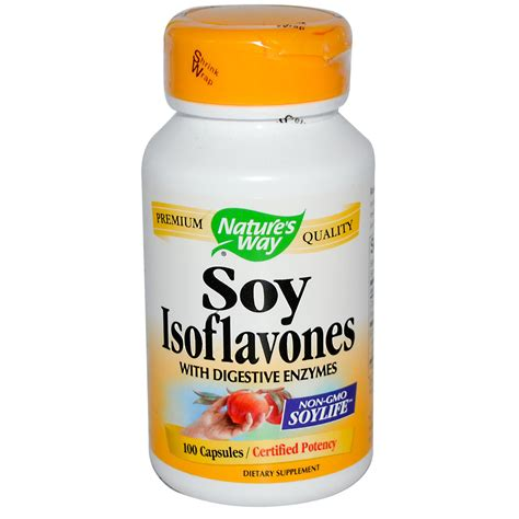 Detox From Soy by Nature S Way Soy Isoflavones 100 Capsules Iherb